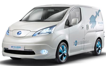 E Nv200 Visia Van Nissan Elektrische Bestelauto