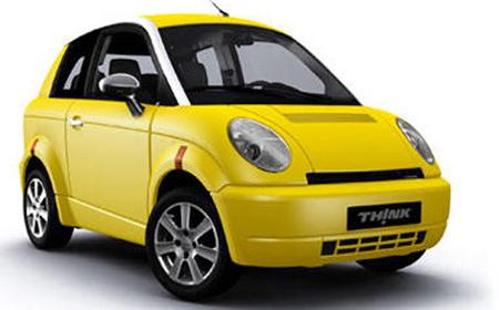 Think City Elektrische Auto Geen Bpm Geen Wegenbelasting Auto